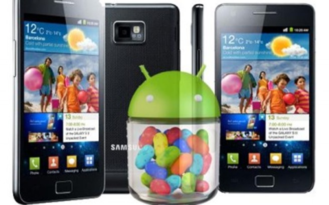 Android Jelly Bean 4.1.2 Galaxy S2