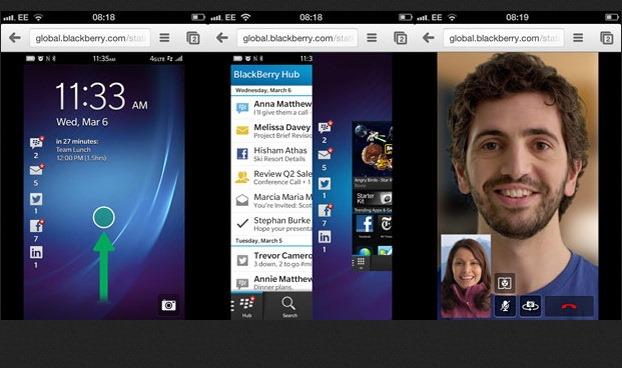 Vrei sa vezi cum arata BlackBerry 10 pe iPhone?