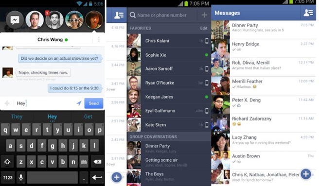 Facebook Messenger Android Chatheads