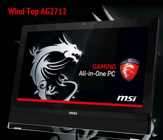 MSI AIO AG2712 all in one pc