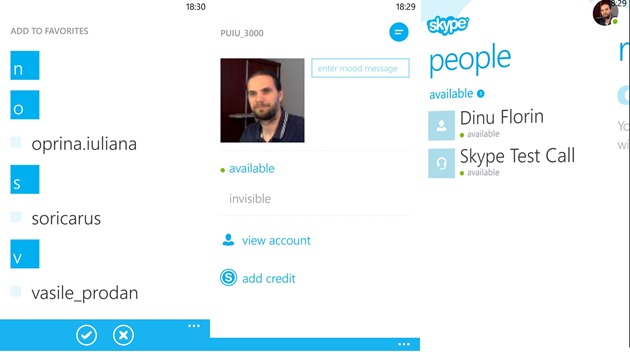 apps by microsoft wp8 Skype