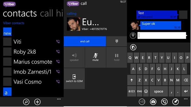 apps by microsoft wp8 Viber