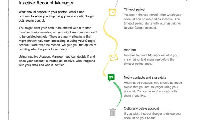 Google Inactive Account Manager – Ce faci cu datele tale dupa deces?