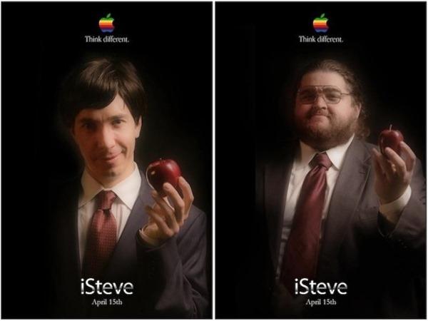isteve poster Steve Jobs mockumentary