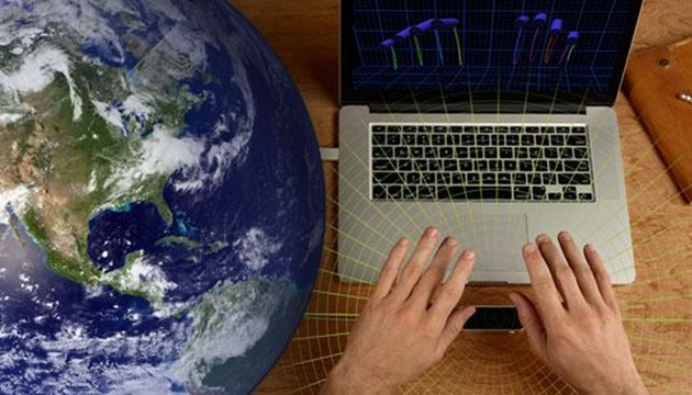leap motion interactiune google earth