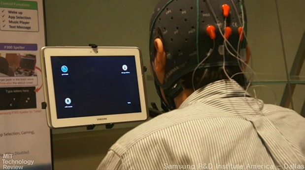 Samsung vrea tablete pe care utilizatorul sa le controleze cu puterea mintii