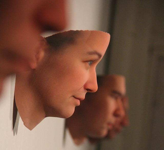 Imprimarea 3D, folosita la o expozitie de… figuri omenesti