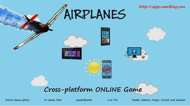 AirPlanes wp8 windows 8 cross platform