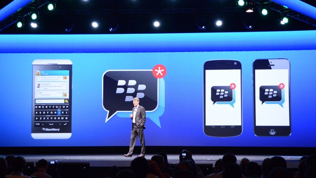 BlackBerry isi calca pe mandrie, BBM devine cross platform