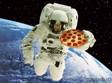 NASA mancare printata 3d in spatiu