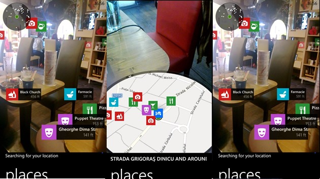 Nokia Here Maps with Live Sight