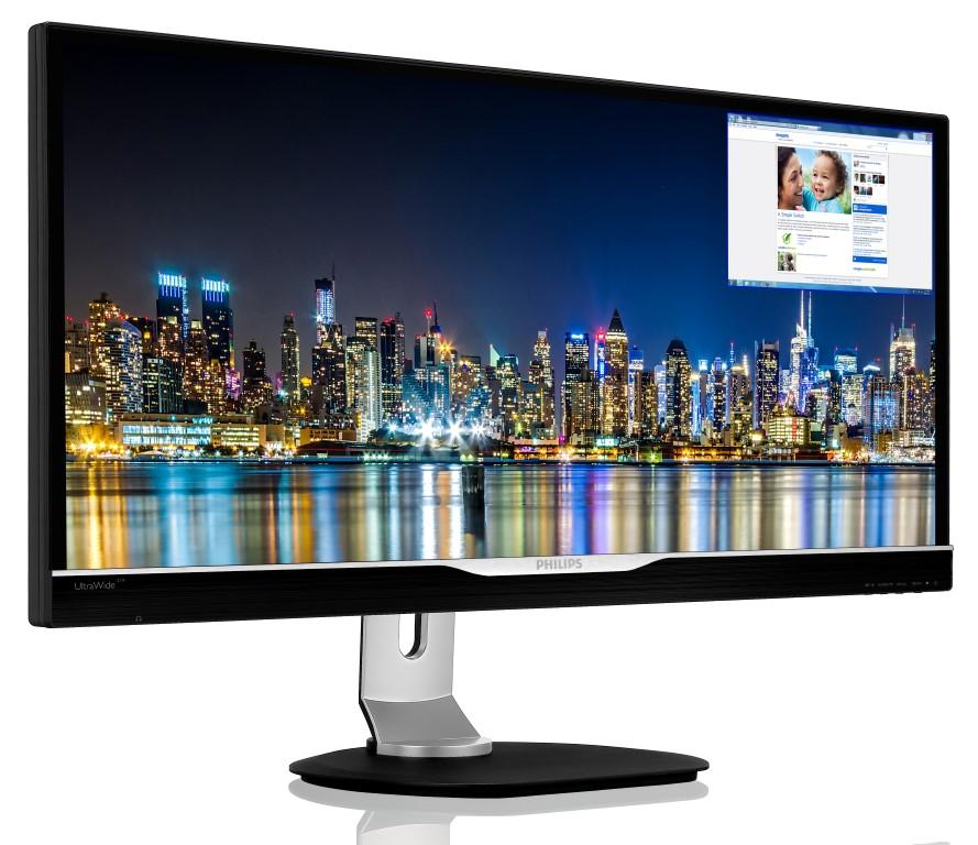 Philips lanseaza o serie de monitoare Quad HD UltraWide