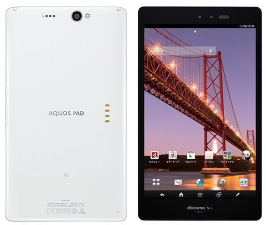 Sharp Aquos sh08e01 IGZO