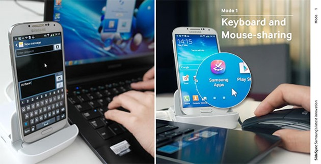 samsung sidesync Android PC Windows