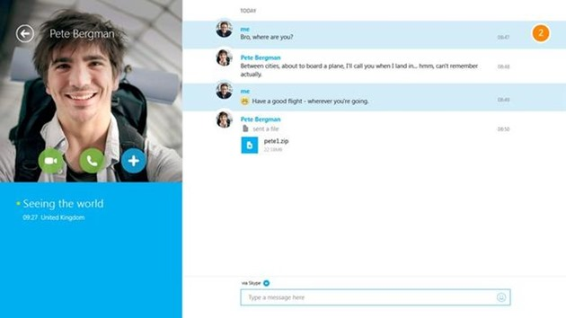 skype windows 8 store app download