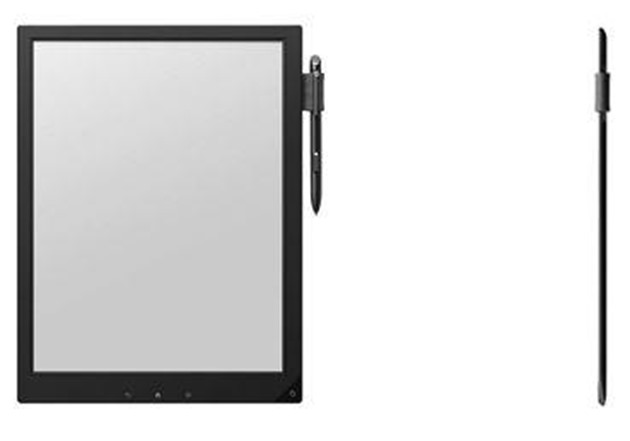 sony digital paper display eInk flexibil