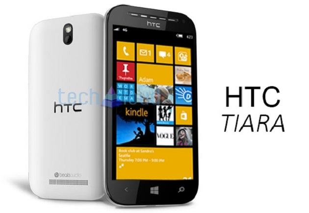 Imagini cu HTC Tiara au aparut online in cursul zilei de astazi