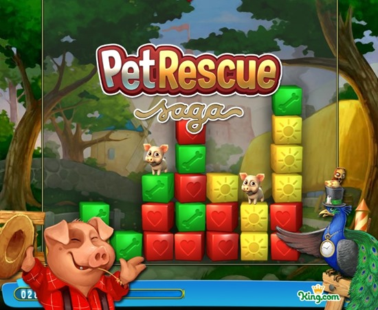 King pet rescue saga