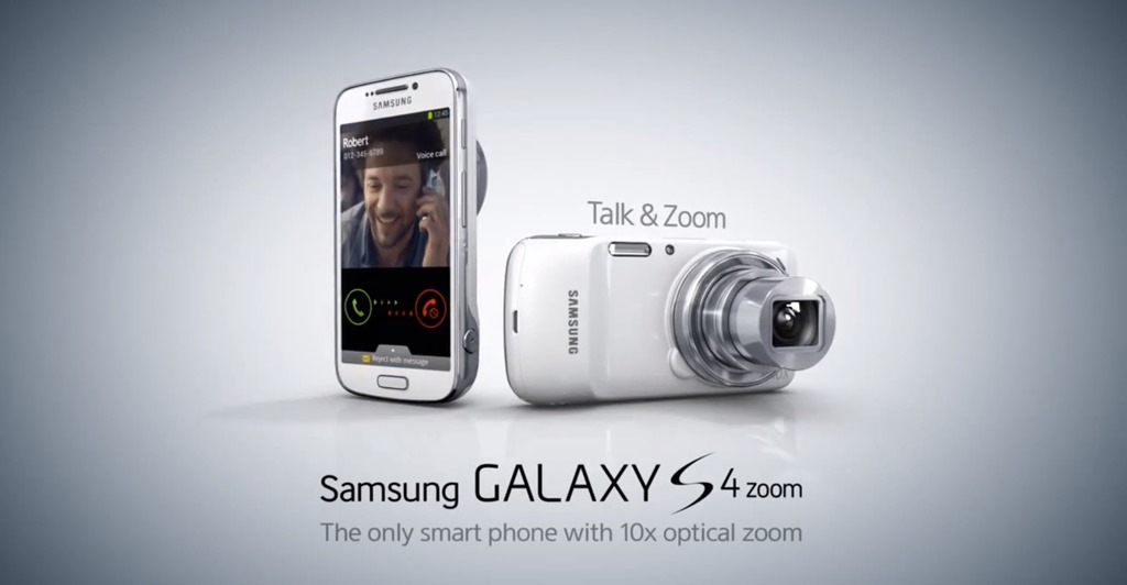 Galaxy S4 Zoom vine insotit de marketing inteligent [VIDEO]