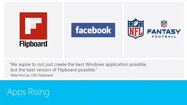 Windows 8 Facebook Flipboard oficial