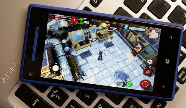 Zombie HQ windows 8 wp8 game