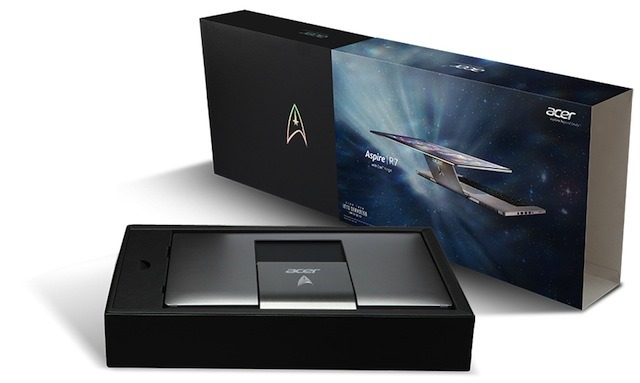 Un Acer Aspire R7 Star Trek Limited Edition disponibil la licitatie