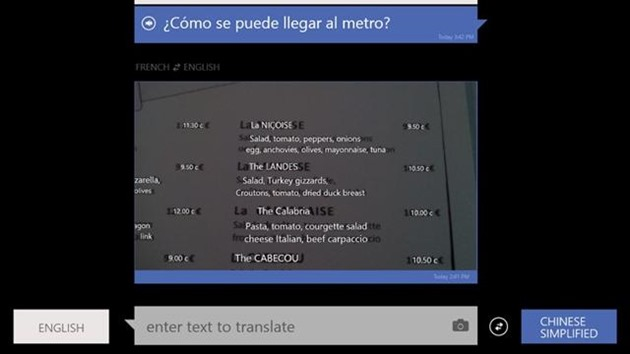 bing translator windows app