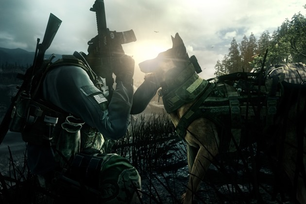 call of duty ghosts good boy screen