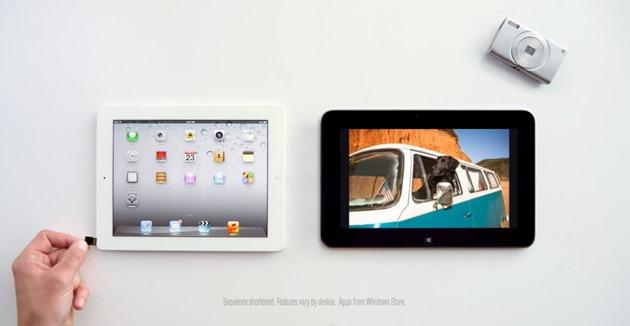 iPad ios versus dell windows rt microsoft
