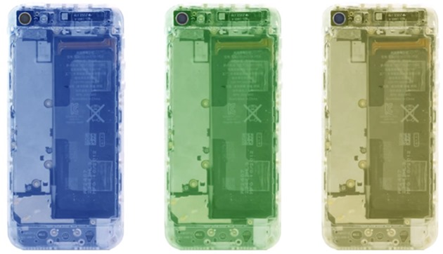 iPhone 5 carcasa transparenta fancy