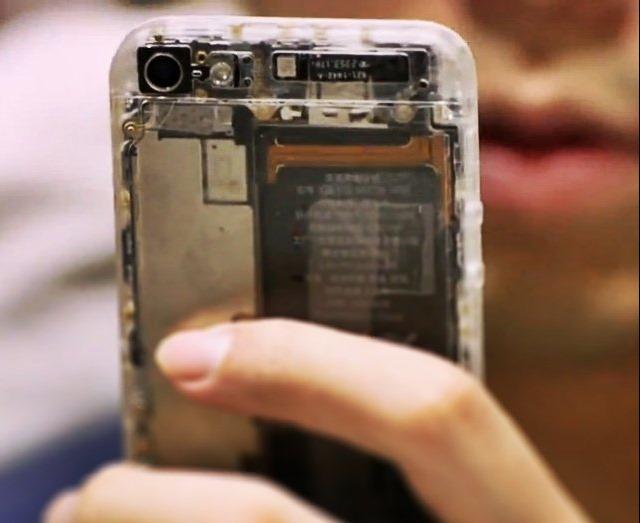 Cat costa sa-ti faci iPhone-ul 5 transparent?
