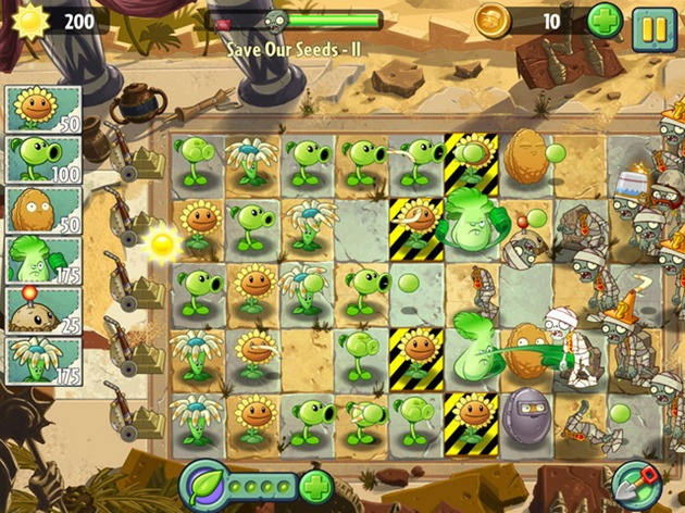 popcap pvz 2 plants vs zombies 2 delay