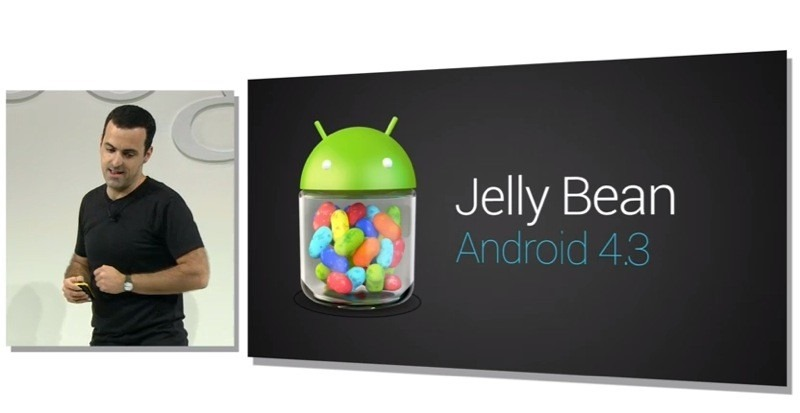 Google a anuntat un nou Jelly Bean, Android 4.3