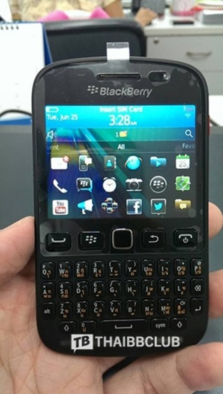 BlackBerry 9720 os 7.0 zvon