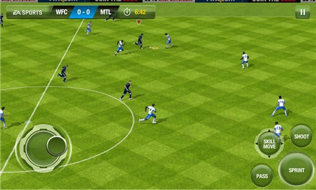 EA fifa 13 WP8 Windows Phone nokia lumia