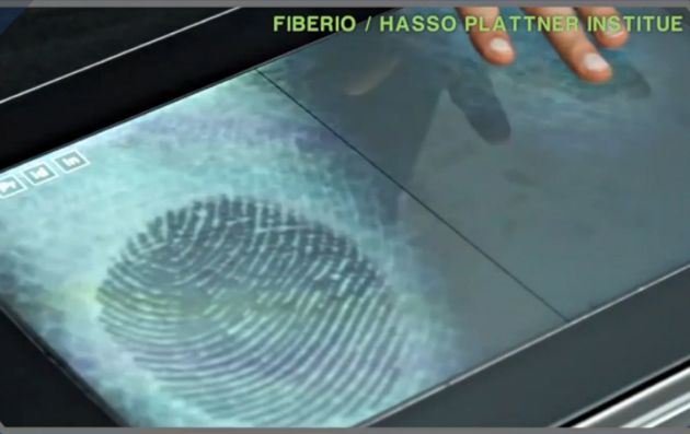 Fiberio Touchscreen