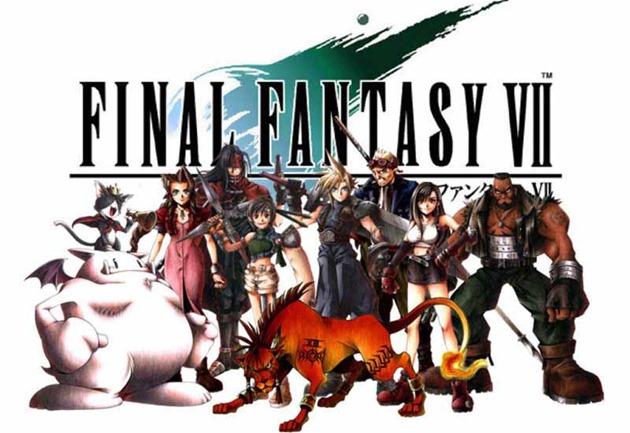 Final Fantasy VII varianta 2D