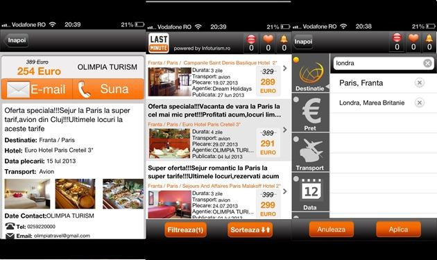 Lastminute iOS android windows phone