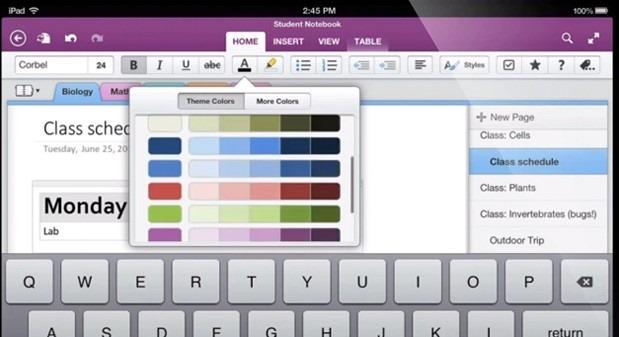 Aplicatia Microsoft OneNote devine mult mai utila pe iOS si Android