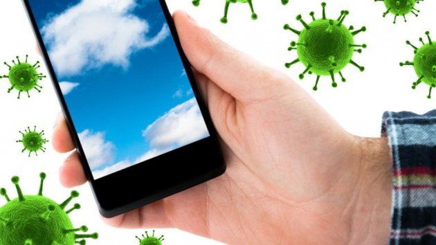 Phone-Germs-iStock-composite Corning