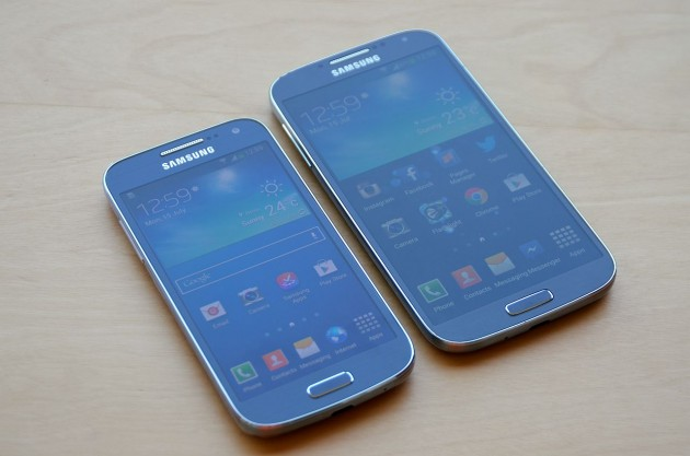 Samsung Galaxy S4 Mini comparatie Samsung Galaxy S4