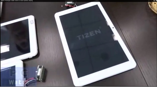 Tizen 2.0 tableta video
