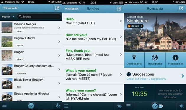 Triposo Romania iOS android windows phone