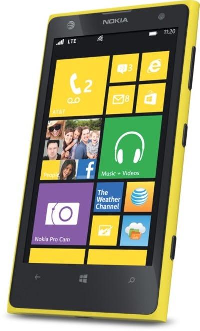WP Windows Phone 8 nokia lumia 1020 front