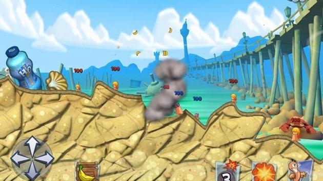 Worms 3 iOS lansare trimestrul trei