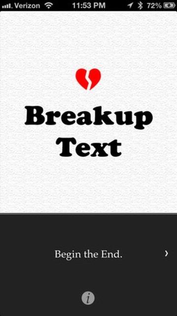 Cum sa te desparti prin SMS: Breakup Text