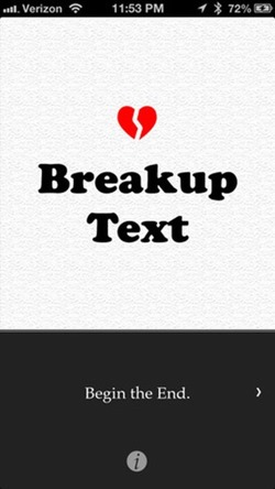 breakup text app
