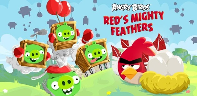 google android red's mighty feathers angry birds