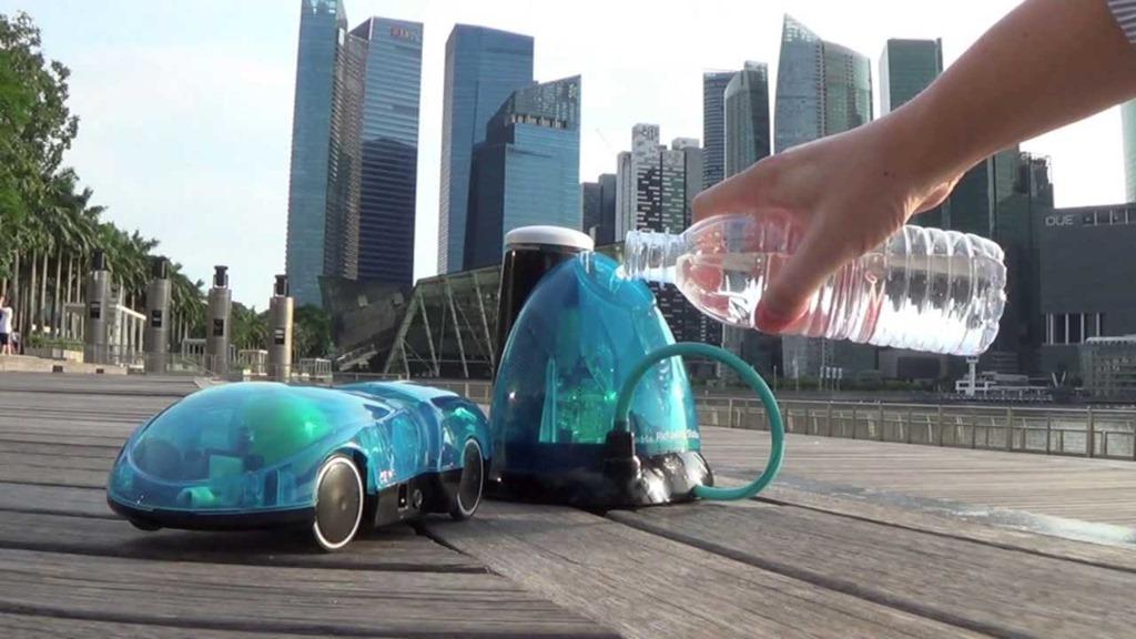 i-H2Go: o masina de jucarie care functioneaza cu iPhone si… apa [VIDEO]