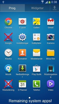 truly clean android Galaxy S4 Curatenie